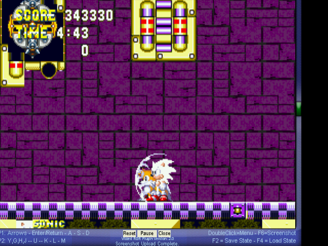 Sonic the Hedgehog 3 - sonic yellow - User Screenshot